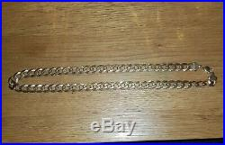108g 9ct Gold Curb Chain Necklace