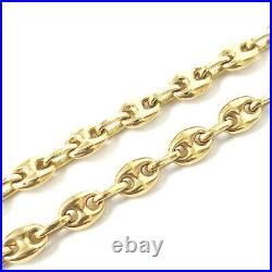 18ct Gold Chain Anchor Design SOLID Yellow 27.1g 18 Inches HALLMARKED 4.5mm Wide
