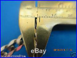 20 SOLID NOT HOLLOW CURB LINK CHAIN in SOLID 9CT GOLD FULL UK HALLMARK