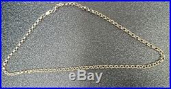 20inch 9ct gold belcher 20g chain RRP £650