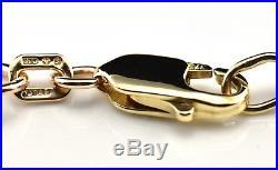 (21) 9ct Gold Belcher Link Neck Chain (16.83g) Hallmarked 9k 375