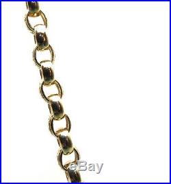 26 Inch 9ct Gold Belcher Chain 67+ Grms UK Hallmark Mint Cond Reputable Jeweller