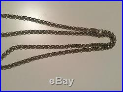 9CT GOLD 24 BELCHER CHAIN. Heavy 25.1 grams. Used