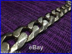 9CT GOLD CURB CHAIN 285 GRAMS UK HALLMARKED HUGE
