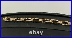 9CT Solid Gold Bracelet 16.63g / 21cm