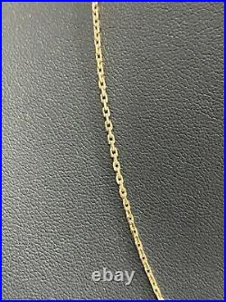 9CT solid yellow gold Chain Necklace 2.95g / 45cm