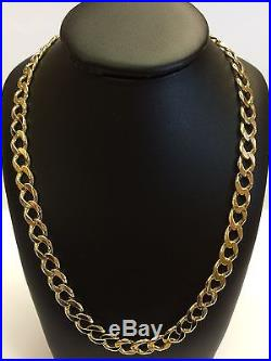 9Carat (9ct) Gold Heavy Curb Chain Yellow Gold 23 Long 54.03g RRP £2700