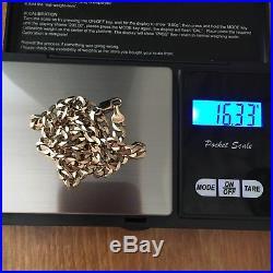 9Ct Gold Curb Chain