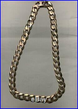9carat (9ct) Gold Heavy Curb Chain Yellow Gold Solid 24 Long 150 g