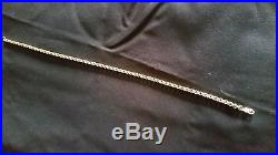 9ct 375 Heavy & Chunky Mens Solid Gold Belcher Chain 77.7g