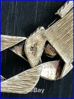 9ct Diamond Cut BOMBE Chain 375 GENUINE GOLD HEAVY Necklace 22 13mm NEW