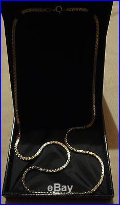 9ct GOLD CHAIN / NECKLACE 50g