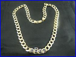 9ct GOLD NEARLY 1.5OZ / 42.6g HEAVY CURB CHAIN BRAND NEW HALLMARKED ITALY 9k
