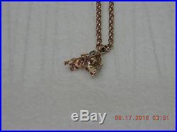 9ct Gold 20 Belcher Chain And bulldog