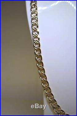 9ct Gold 20 inch Curb Chain