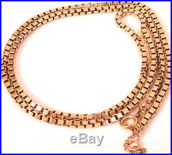 9ct Gold 24 Box link Link Chain