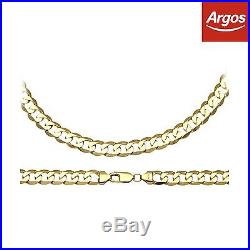 9ct Gold 24 Inch Curb Chain. From the Official Argos Shop on ebay