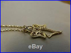 9ct Gold Angel Pendant with 18 9ct Gold Chain