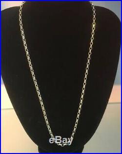 9ct Gold BELCHER Chain VINTAGE Men's/Women's Weight 21.3g Length 24 Hallmarked