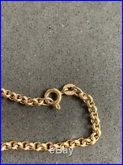 9ct Gold Belcher Chain 5.9g