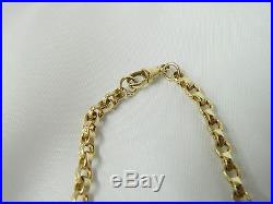 9ct Gold Belcher Link Chain