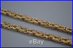 9ct Gold Byzantine Chain