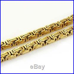 9ct Gold Byzantine Chains 16 26 Top of my range, beautifully made NEW