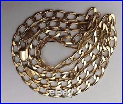 9ct Gold Chain Men's/Women's Chain Weight 10.38g Length 18 Stamped Quality