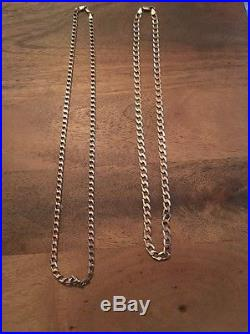9ct Gold Chains, 36g, Scrap/wearable, Jewellery