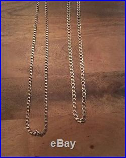 9ct Gold Chains, Scrap, Jewellery
