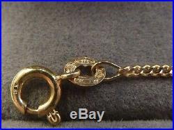 9ct Gold Child's 16 1/2 Fancy Chain & 6 1/2 Bracelet Set 6.4 grams