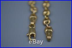 9ct Gold Coffee Bean Chain