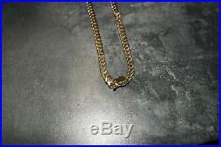 9ct Gold Cuban Chain, cuban link chain