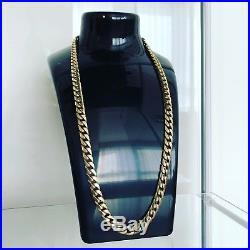 9ct Gold Cuban Heavy Chain