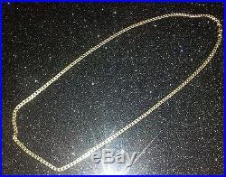 9ct Gold Curb Chain (16g, 24)