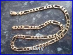 9ct Gold Curb Chain, 20, Inches, 40grm