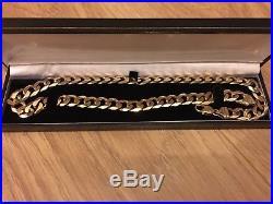 9ct Gold Curb Chain 20 heavy