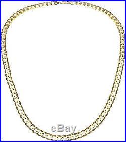 9ct Gold Curb Chain 24 inch