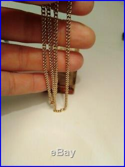9ct Gold Curb Chain Necklace
