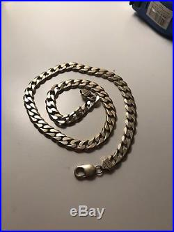 9ct Gold Curb Chain Solid 20inch NO RESERVE