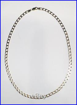 9ct Gold Curb Link Chain Heavy