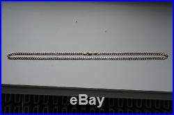 9ct Gold Curb Link Necklace Chain 24 Hallmarked Around 19 grams