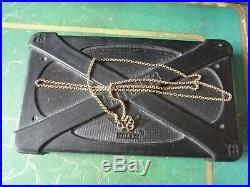 9ct Gold Fine Belcher Chain Necklace