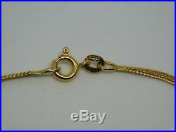 9ct Gold Flat Foxtail Link Chain