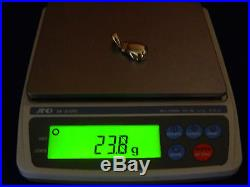 9ct Gold Hallmarked Boxing Glove Pendant Heavy 23.8g / No belcher or Curb Chain
