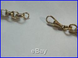 9ct Gold Heavy Belcher Chain 23 / 58cm Long / 57g / Nearly 2oz Hand Made NEW