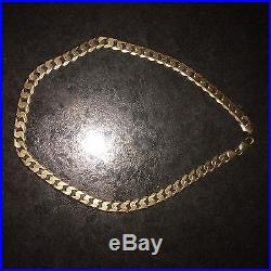 9ct Gold Heavy Curb Chain 94grams