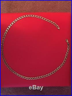 9ct Gold Heavy Curb Link Chain 8.50mm wide 58 grams