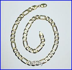 9ct Gold Heavy Figaro Chain