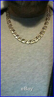 9ct Gold Heavy Mariner Chain